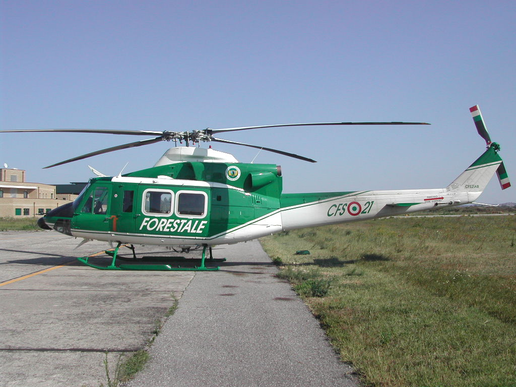 Elicottero Bipala : Agusta bell ab drive fly modena model club