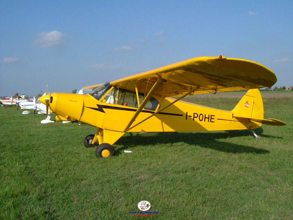 Aereo Privato In Inglese : Piper j cub drive fly modena model club
